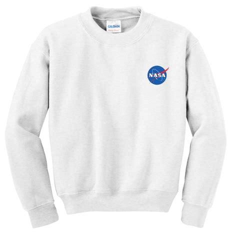 Hoodie Nasa Logo Black nasa logo sweatshirt
