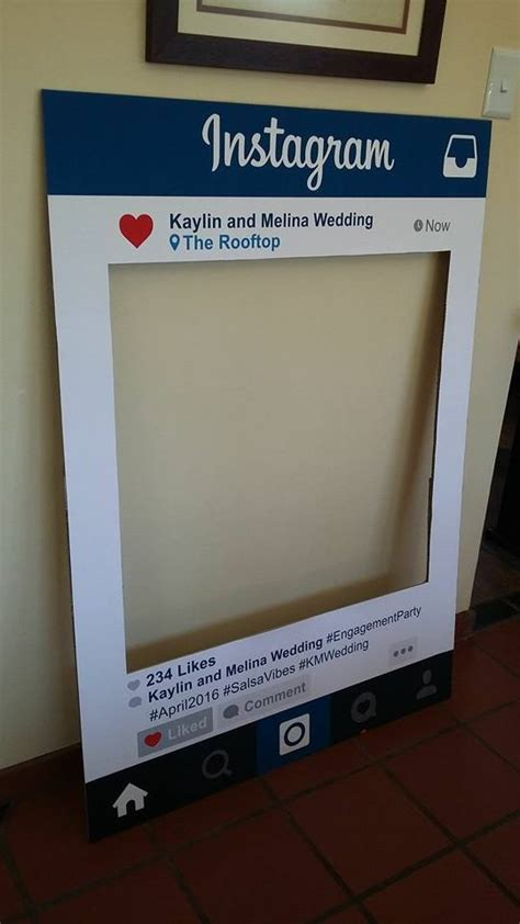 instagram photo booth layout melina and kaylin instagram photo booth prop custom