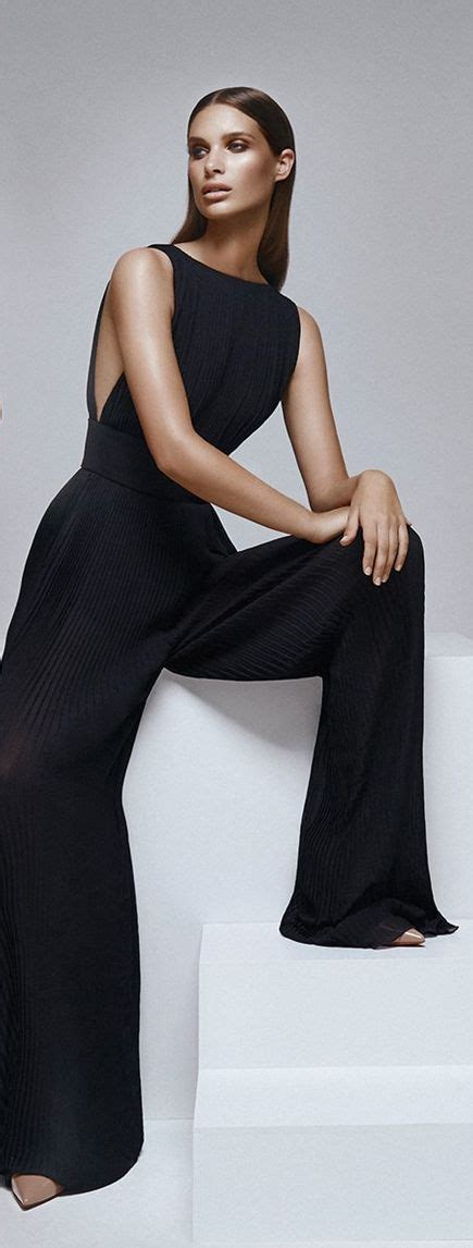 Who Wore The Ysl Jumpsuit Better by The 25 Best Ideas About Black Jumpsuit On