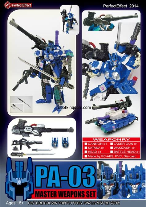 Mytea Teh 3 Pcs Effect S Pa 01 02 03 Weapon Sets New Product Images Transformers News Tfw2005