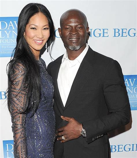 Kimora Simmons New Boyfriend Dijimon Hounsou by I A Lot Of Hang Ups In With I M By Kimora