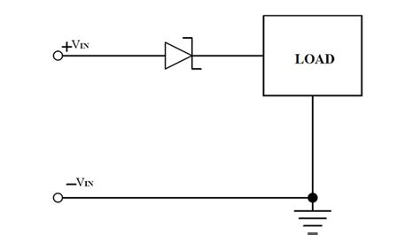 diode bridge polarity protection zero iq ic protects against polarity inputs power electronics