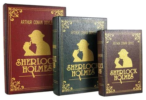 sherlock holmes 6 book boxed set of 3 sherlock holmes secret nesting book boxes traditional books by zeckos