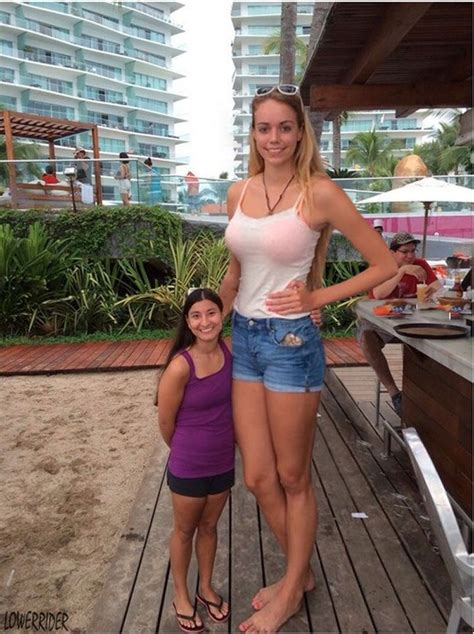 tall girl  short woman  lowerrider  deviantart
