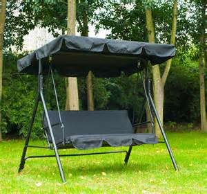 Backyard Creations Hanging Lounger Parts Outsunny Swing Chair Patio Hammock Garden 3 Seater Outdoor