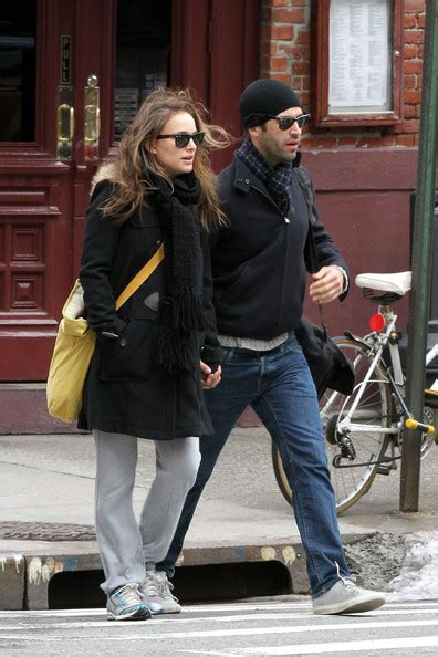 Deals And Steals At Scoop Nyc Bglam by Natalie Portman Holding With Fiance Benjamin
