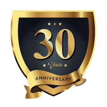 30th Anniversary PNG Images   Vectors and PSD Files   Free