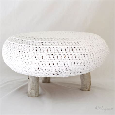 Knitted Gumball Ottoman Knitted Ottoman Spotlight Knitted Gumball Ottoman Pouffe Foot Stool Pouf Footstool Poof Poufee