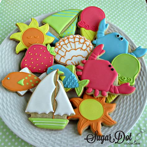 Summer Decorated Cookies by Image Summer Decorated Cookies