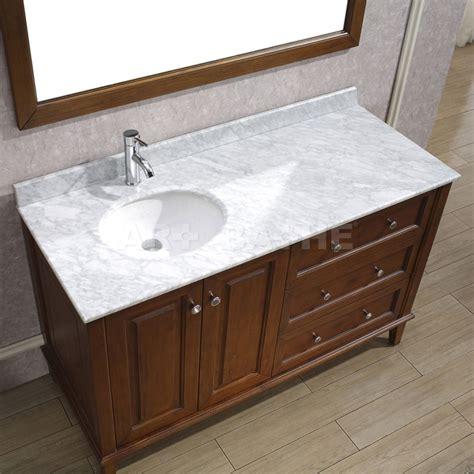 bathroom vanity with offset art bathe lily 55 classic cherry bathroom vanity solid
