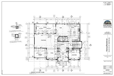 house plans and more com monsef donogh design grouphoang residence sheet a202