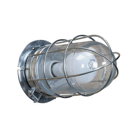 canarm ceilingwall barn light  cage   watts
