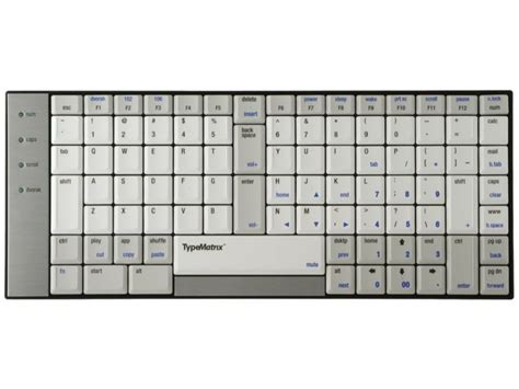 layout qwerty keyboard us typematrix 2030 usb us qwerty keyboard kbc tm2030 q