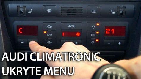 Audi A6 4f Check Taste by Ukryte Menu Tips Tricks Mr Fix Pl