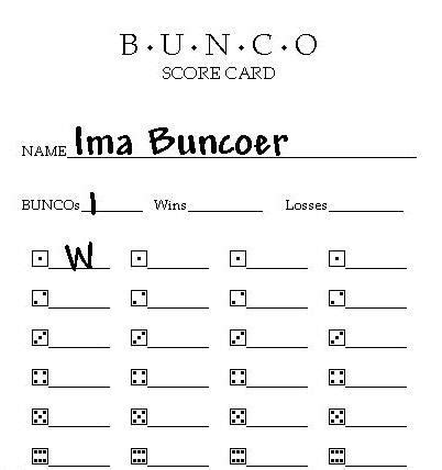 Free Printable Bunco Score Sheets Murder Was The Case Lyrics Games Lyric Template Free
