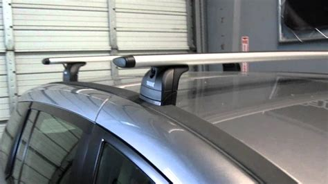 2012 mazda 5 with thule 460r aeroblade base roof rack by