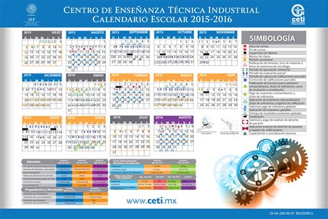 Calendario B Udg Calendario Escolar 2014 Y 2015 Mexico Calendar Template 2016