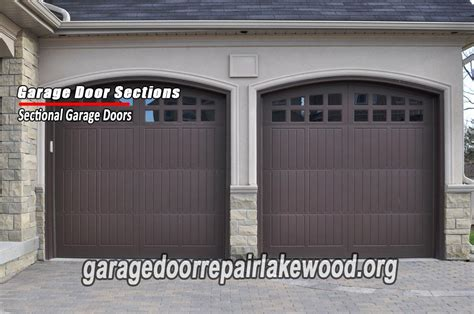 garage door section replacement lakewood co garage repair denver co 80214 720 310 1818