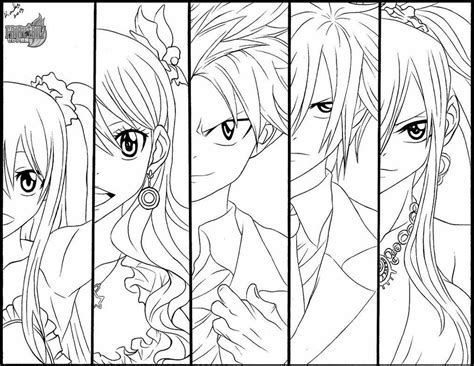 fairy tail coloring pages fablesfromthefriends com