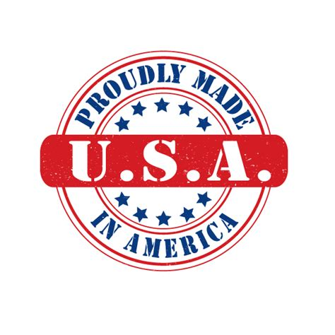 made in the usa logo made in usa logo design vector royalty free