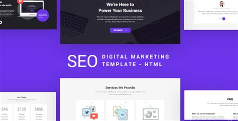 themeforest digital marketing seo seo digital marketing agency template by