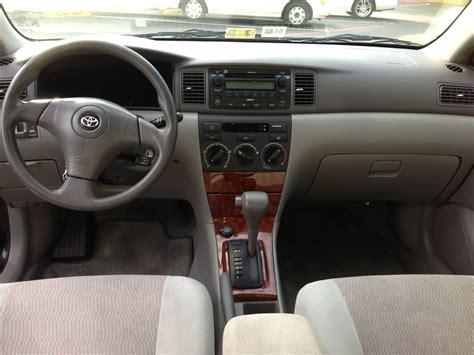 Toyota Corolla 2007 Interior 2007 toyota corolla interior pictures cargurus