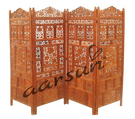 handcrafted wooden partition room divider aarsun woods handmade wooden room divider aarsun woods