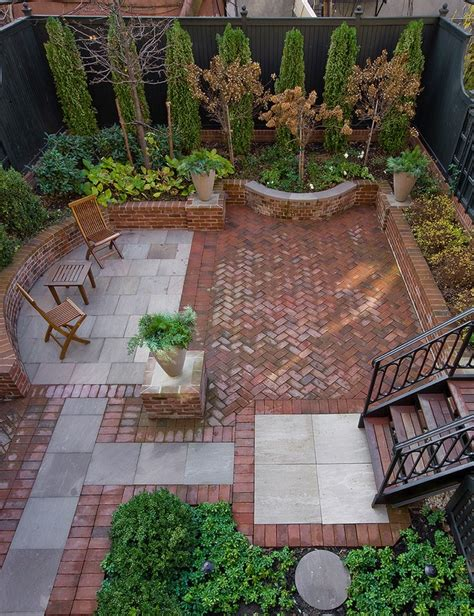 20 Charming Brick Patio Designs Patio Garden Design Ideas