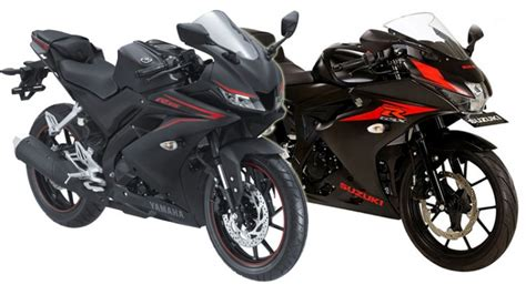 Teringann All New Yamaha R15 komparasi fitur suzuki gsx r150 vs yamaha all new r15