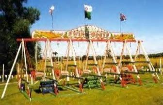 boat swing victorian swing boats funfair rides for hire irvin