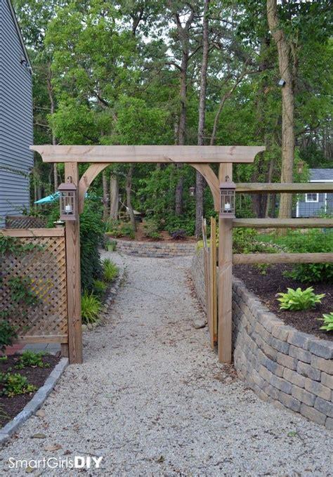 Diy Trellis Arbor | diy garden arbor smalltowndjs com
