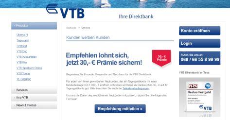 vtb bank erfahrungen vtb direktbank festgeld erfahrungen 187 test 04 2018