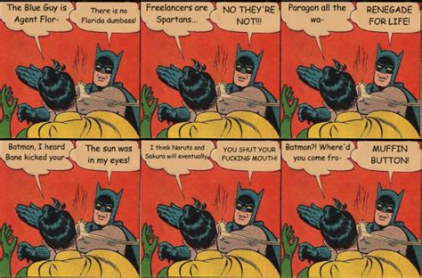 Batman And Robin Slap Meme - batman los bat juegos y bat apps imprescindibles para