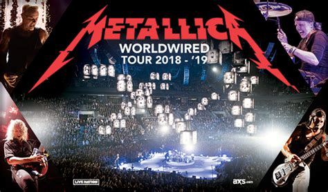 metallica in vegas additional offers vip packages promotions and special
