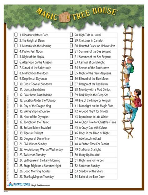 magic tree house list book list bd 28 images ti1g convoc n v cmc4 9th goodreads dig into reading book