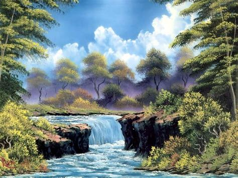 bob ross paintings wallpaper images bob ross painting hd wallpaper and