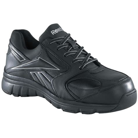 safety toe athletic shoes s reebok 174 composite safety toe sneakers 231923