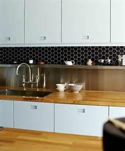 Colorful Kitchen Backsplash 36 eye catchy hexagon tile ideas for kitchens digsdigs