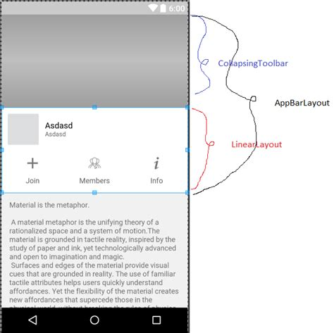 android studio linearlayout center android linearlayout inside appbarlayout stack overflow
