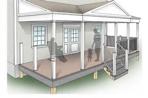 porch plans designs porch design plans inteplast building products