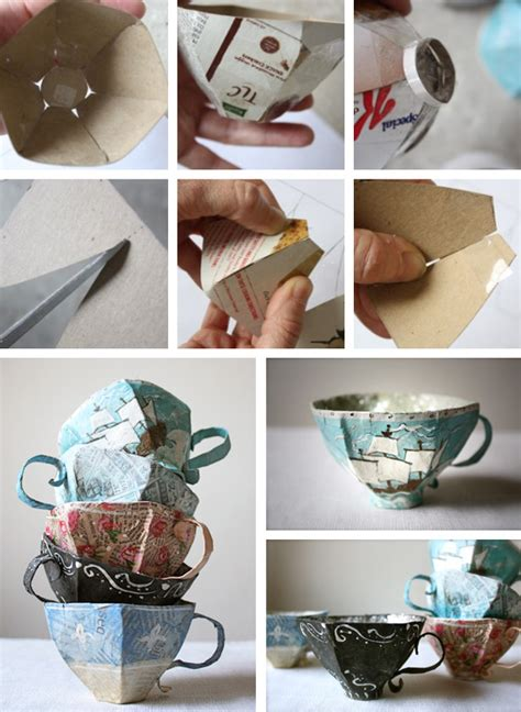 Paper Mache Ideas For Home Decor by Diy Paper Mache Teacup Pictures Photos And Images For