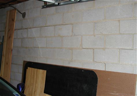 basement wall repair bowend and cracked basement wall repair