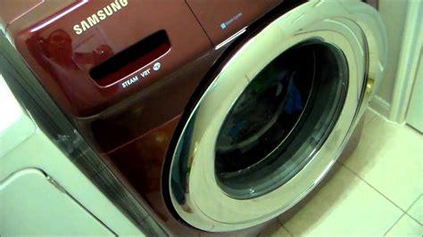 samsung front load washer  steam vrt youtube