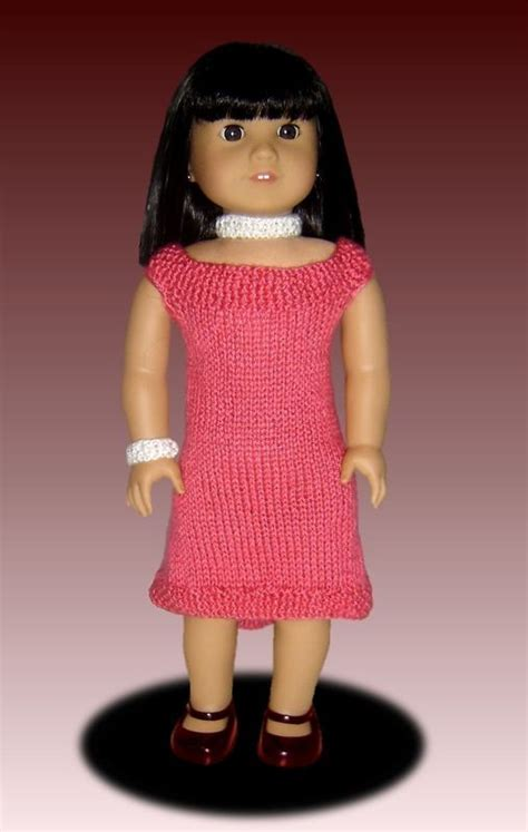 18 inch doll clothes knitting patterns fits american knitting pattern doll clothes 18