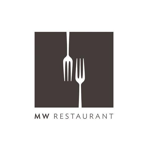 mw restaurant logo graphis