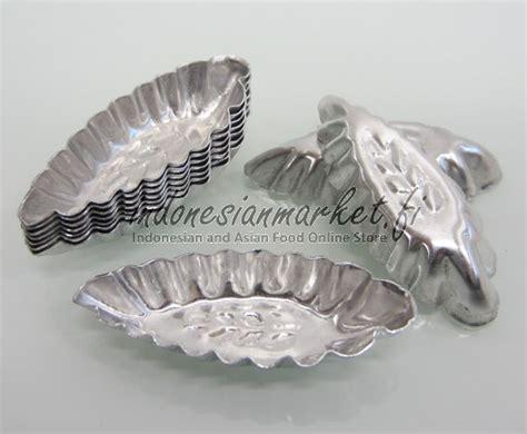 Cetakan Kue Nastar Daun 40pc peralatan dapur cetakan makanan cetakan nastar daun 10 kpl
