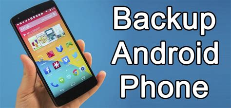 how to backup an android phone how to take backup of android phone on cloud apps
