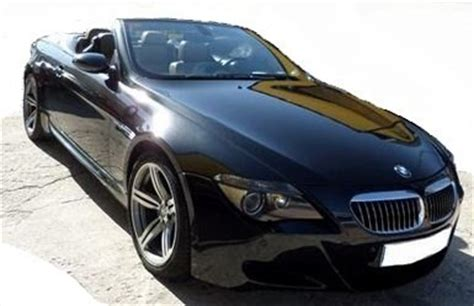 2007 bmw m6 cabriolet 2 door 4 seater convertible sports