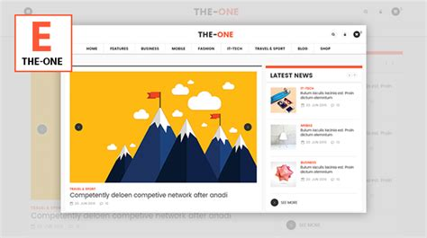 download newspaper v4 6 1 wordpress theme nulled themelord the one v1 7 news magazine blog responsive wordpress