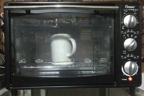 Oven Listrik Roti coating mug pengaturan suhu oven keramik88